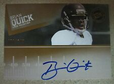 BRIAN QUICK 2012 PRESS PASS BRONZE AUTOGRAPH #80/149 ST. LOUIS RAMS