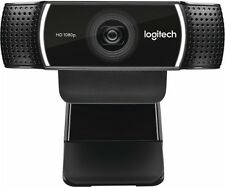 New model Logitech C922 Pro Stream Webcam with tripod