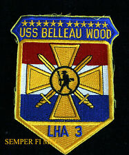 USS BELLEAU WOOD LHA-3 COLLECTOR PATCH US NAVY NS SAN DIEGO DEVIL DOGS MARINES
