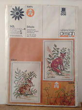 Vintage Oehlenschlager Design 83616 Fox Counted Cross stitch kit