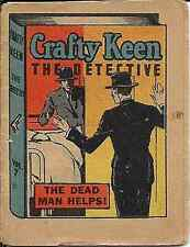 THRILLING STORIES CRAFTY KEEN DETECTIVE 7 MINI GIVEAWAY PROMO THE DEAD MAN HELPS