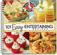 101 Easy Entertaining Recipes (101 Cookbook Collection), Gooseberry Patch, Good