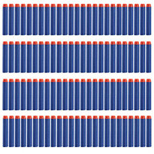 100Pcs 7.2cm Soft Refill Darts for Nerf N-strike Elite Series Blasters Toy Gun M