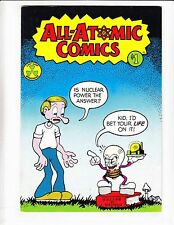 All-Atomic Comics #1 VF/NM (3rd?) DANGERS OF NUCLEAR ENERGY POWER last gasp 1979