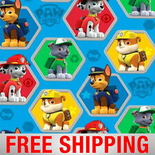 "Fleece Fabric Paw Patrol Chase Rocky Royal Blue 60"" Wide 4019 Free Shipping"