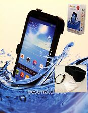 lifebox for Samsung galaxy S4 water crash shock dust snow proof black w/ armband