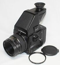 Zenza Bronica GS-1 SLR Camera Zenzanon-PG 100mm F3.5 Lens AE Rotary G Finder
