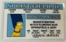 Marge Simpson - The Simpsons - Springfield, Drivers License - Novelty
