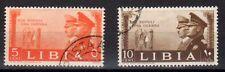 LIBIA 1941 Fratellanza d'Armi 2 Valori USATI (CL-171)
