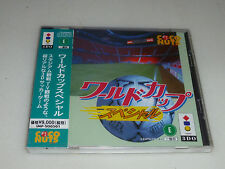 NEW FACTORY SEALED JAPAN IMPORT PANASONIC 3DO GAME WORLD CUP SPECIAL COCONUTS
