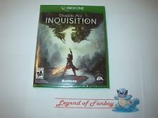 * New * Sealed * Dragon Age Inquisition - Microsoft Xbox One