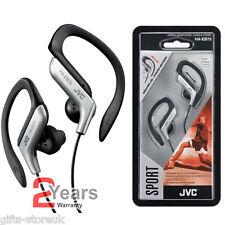 Plata Jvc ha-eb75as Deportes Ajustable Ear Clip Auriculares Auriculares Mp3 Ipod