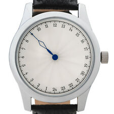 Single-hand 24 hour watch with one hand. Numbered Limited Edition. Swiss movemen