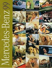 Big 1999 Mercedes Brochure / Catalog: CLK 320,C,SLK 230,E,S,CL,SL,ML Class,430,