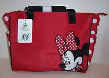Disney Baby MINNIE MOUSE Red Polka Dot DIAPER Messenger Tote BAG NEW!!