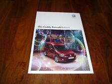 VW Caddy RONCALLI EDITION Prospekt 03/2011