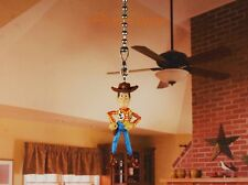 Disney Toy Story Woody Ceiling Fan Pull Light Lamp Chain Decor N26