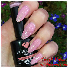 * 1301 * vb ™ Brillo Rosa leche línea Neón color UV-LED Soak Off Nail Gel Polaco