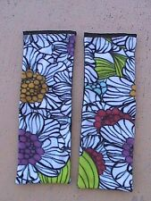 Ferret Nation Cage Fleece Ramp Covers - Floral - Set of 2