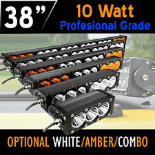 LED Work Light Bar- 210w 38 Inch 10w CREE LED's 12v,24v, 4x4 4WD Offroad Car.