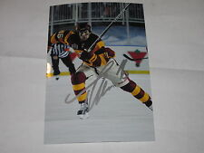 TOM KOSTOPOULOS AUTOGRAPHED FLAMES HERITAGE CLASSIC 4X6 PHOTO # 2
