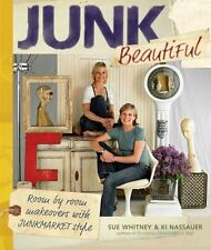 Junk Beautiful: Room by Room Makeovers with Junkmarket Style-ExLibrary