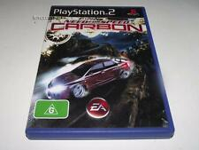 Need For Speed Carbon PS2 PAL Preloved *Complete*