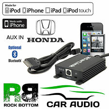 Honda Accord 1997 Onwards Car Radio AUX IN iPod iPhone Bluetooth Interface