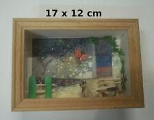 vitrine miniature,chien attend son maître , décoration, maison de poupée  07