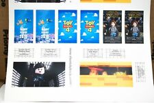 Custom stickers for LEGO 10232 Palace Cinema Force Awakens Rogue One Toy Story