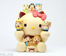 NIB Hello Kitty Japanese Wood Coin Bank Seven Lucky God