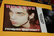 NICK CAVE LP FROM HERE TO ETERNITY ORIOG UK 1984 EX CON INNER TESTI