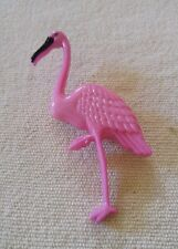 VTG Pin brooch figural plastic Lucite Acrylic Pink Flamingo bird collectible