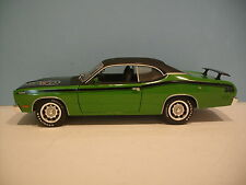 1:18 Scale Green/ Black 1971 PLYMOUTH DUSTER 340 2 DOOR HARD TOP Diecast By Ertl