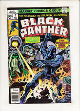 Black Panther #2 Versus The Six-Million Year Man in King Solomon's Tomb! Kirby!