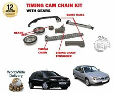 Per NISSAN quasi esaurito N16 + PRIMERA P11 1.5 1.8 1999 - > CAM TIMING CHAIN KIT + INGRANAGGI