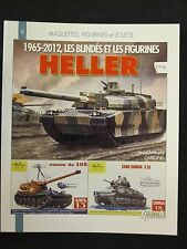 Les Blindés et Figurines Heller 1965-2012 (Heller Model Kits) Well Illustrated