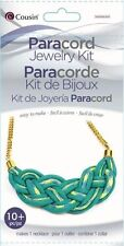 Kit---Teal Braided Necklace Paracord Kit by Cousin