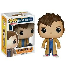 "DOCTOR WHO TENTH DOCTOR 3.75"" VINYL FIGURE POP FUNKO 11TH DAVID TENNANT 10TH"