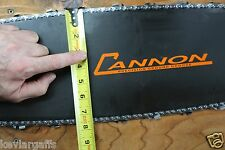 """Cannon """"Competition"""" FAT BELLY Racing Sports 36 inch chainsaw bar Stihl MS880"""
