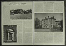 Life At Stowe House Lichfield By Theodora Benson 1957 2 Page Photo Article