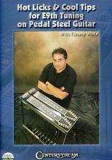 Hot Licks & Cool Tips for E9th Tuning on Pedal Steel Guitar, Wi (2011, DVD NEUF)