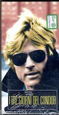 I TRE GIORNI DEL CONDOR (1975) VHS Video Ed. L'Unità -  CULT - NEW cellofanata