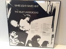 VELVET UNDERGROUND - WHITE LIGHT / WHITE HEAT  VINYL LP NEW MINT BONUS TRACKS