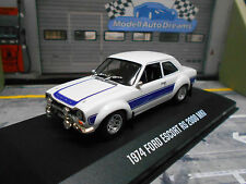 FORD Escort MKI Hundeknochen RS 2000 white blue weiss blau Ertl Greenlight 1:43