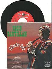 """Facio Santillan, El Condor Pasa, G/VG 7"""" Single, 0138"""