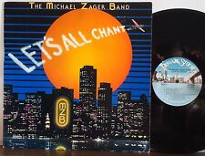 MICHAEL ZAGER Let's All Chant 1978 PRIVATE STOCK LP Jazz-Funk-Disco RONNIE CUBER