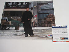 DONNIE YEN SIGNED 8X10 PHOTO PSA/DNA COA AA89895 YEN JI DAN IP MAN IRON MONKEY