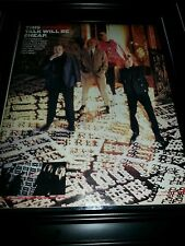 Cheap Trick Lap Of Luxury Rare Original Promo Poster Ad Framed!