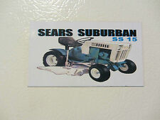 SEARS SUBURBAN SS15 Fridge/tool box magnet